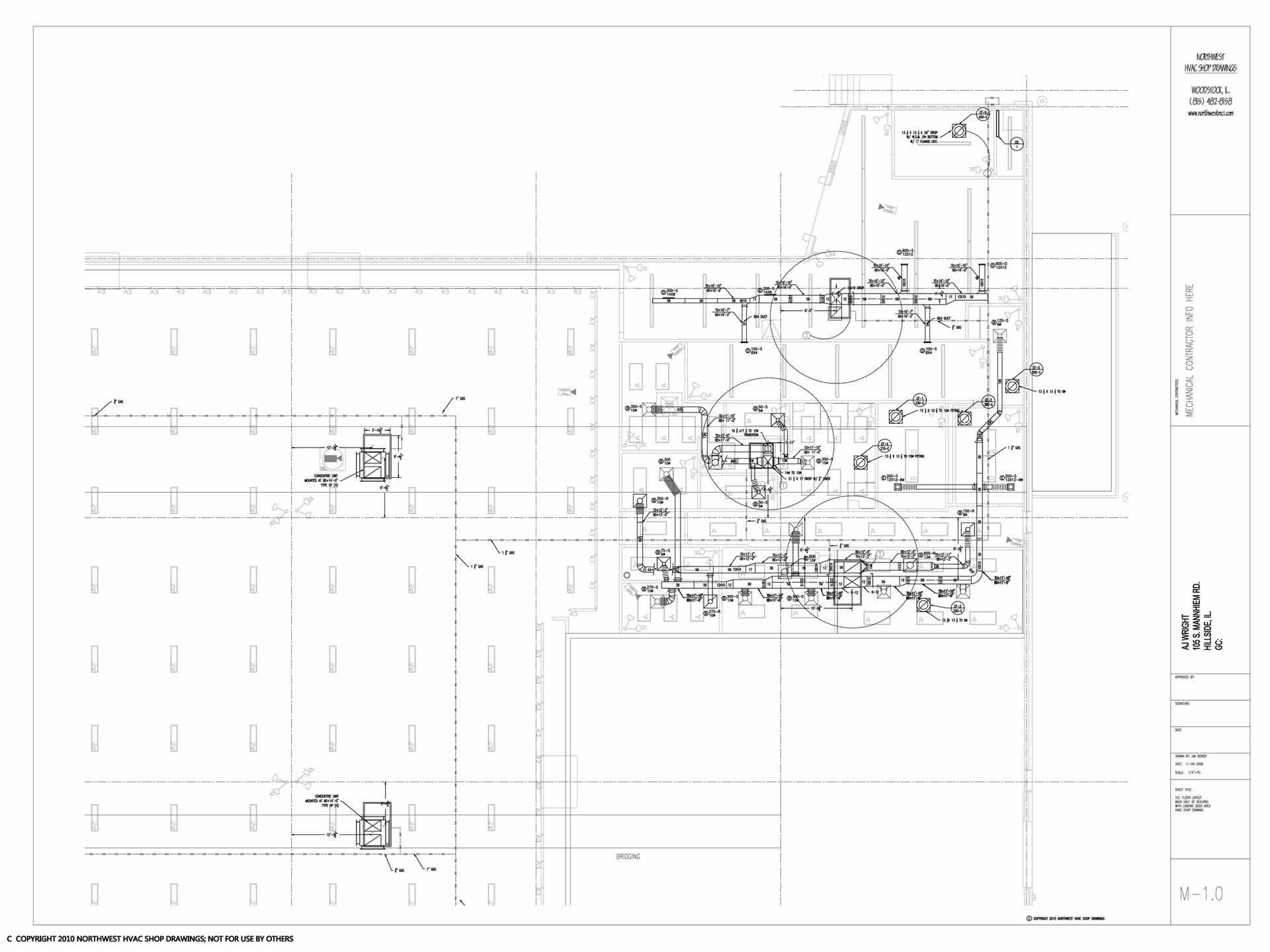 Sample Drawings Hvac Drawing Pictures